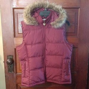 Maurice's Hooded Fall/Winter Vest size XL
